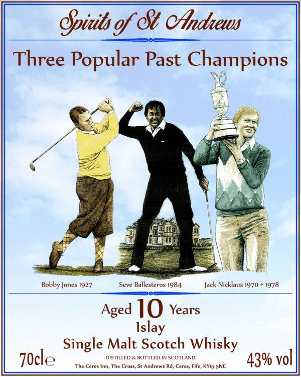 Three Popular Past Champions